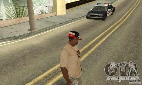 New Era Cap pour GTA San Andreas troisième écran