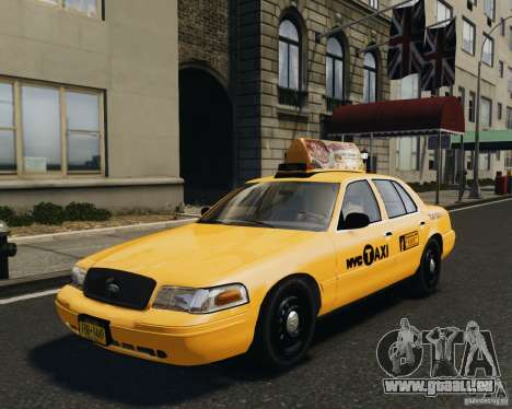 Ford Crown Victoria NYC Taxi 2012 pour GTA 4