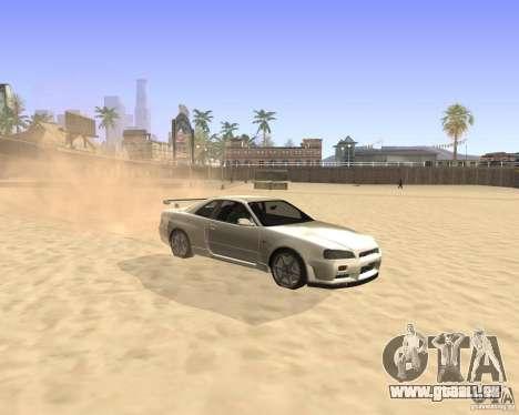 ENBSeries By Krivaseef pour GTA San Andreas deuxième écran