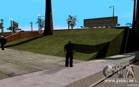 La nouvelle Cour de basket-ball pour GTA San Andreas troisième écran