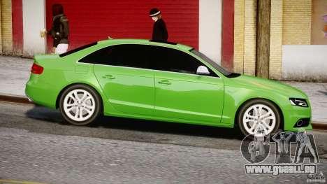 Audi S4 2010 v1.0 für GTA 4 Innenansicht
