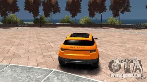 Range Rover LRX 2010 pour GTA 4 Vue arrière de la gauche