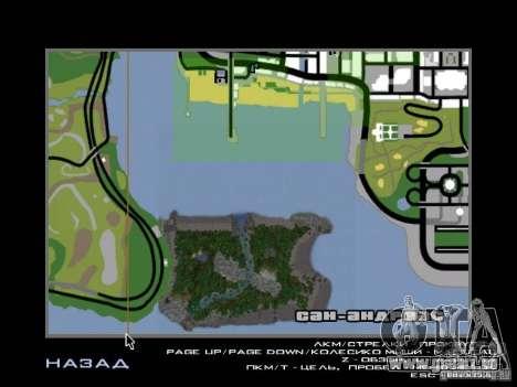 Tropische Insel für GTA San Andreas zehnten Screenshot
