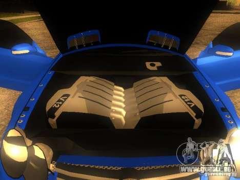 Mercedes-Benz SL65 AMG für GTA San Andreas Rückansicht