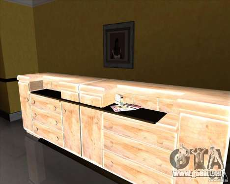 New Interior of CJs House für GTA San Andreas sechsten Screenshot