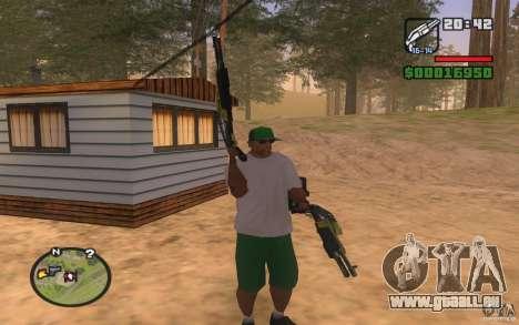 Double weapons pour GTA San Andreas troisième écran