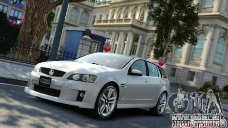 Holden VE Commodore Sportwagon SS 2009 für GTA 4 linke Ansicht