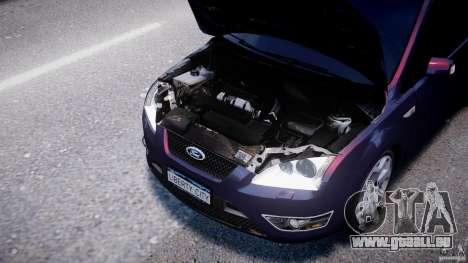 Ford Focus ST MkII 2005 pour GTA 4 est une vue de l'intérieur