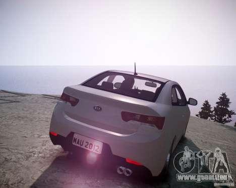 Kia Cerato Koup 2011 pour GTA 4 Vue arrière de la gauche