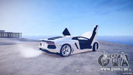 Lamborghini Aventador LP700-4 v1.0 pour GTA 4 est un côté