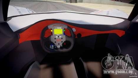 Mazda Furai Concept 2008 pour GTA 4 Vue arrière