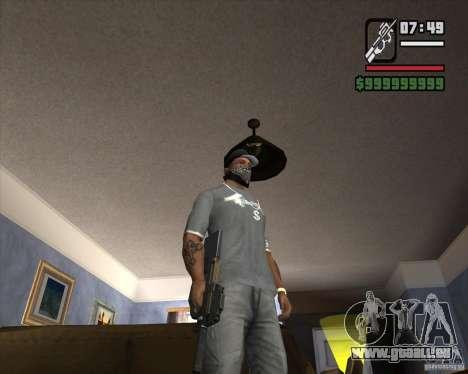 P90 de GTA IV The Ballad of Gay Tony pour GTA San Andreas deuxième écran