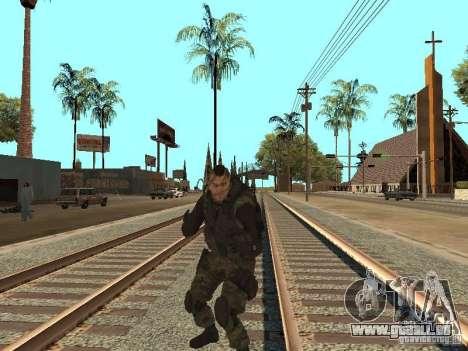 Captain MacTavish pour GTA San Andreas sixième écran