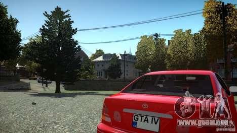 Toyota Aristo für GTA 4 Innenansicht