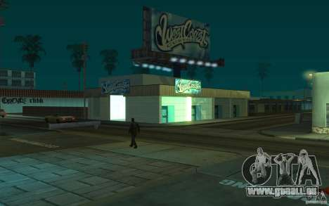 west coast coustoms für GTA San Andreas