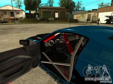 Ford Mustang Drag King für GTA San Andreas Rückansicht