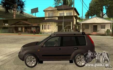 Nissan X-Trail 2001-2007 pour GTA San Andreas laissé vue