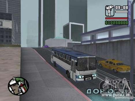 Ikarus 260.27 für GTA San Andreas linke Ansicht