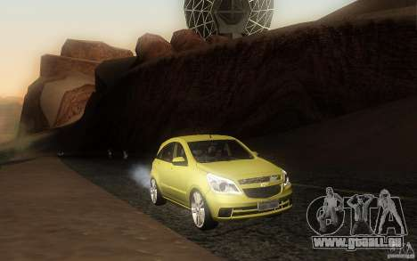 Chevrolet Agile 2012 für GTA San Andreas