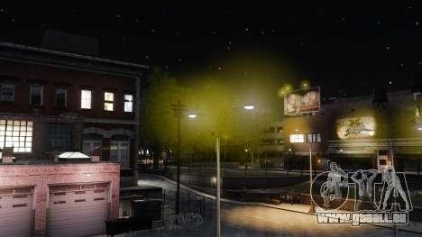 Jaune s'allume pour GTA 4 troisième écran