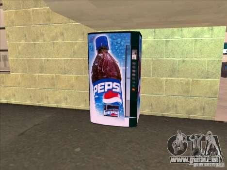 Distributeurs automatiques de PEPSI pour GTA San Andreas