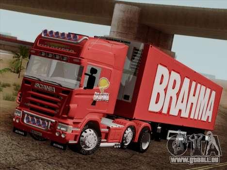 Scania R620 Brahma für GTA San Andreas Unteransicht