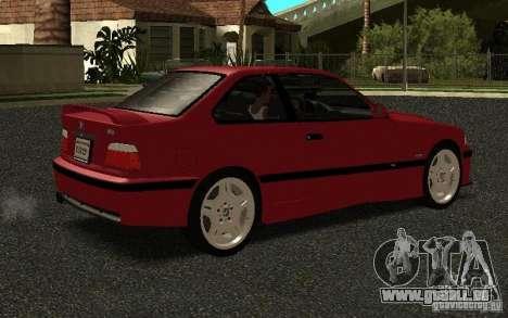 BMW E36 M3 1997 Coupe Forza pour GTA San Andreas vue de droite