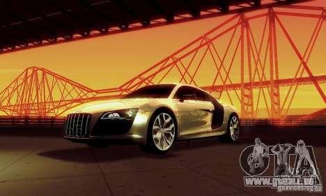 Audi R8 5.2 FSI Quattro für GTA San Andreas