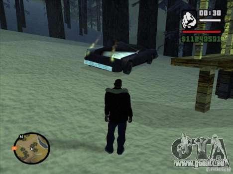 GhostCar pour GTA San Andreas quatrième écran