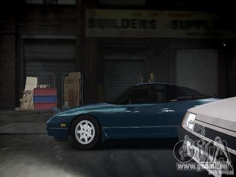 Nissan 240SX für GTA 4 Rückansicht