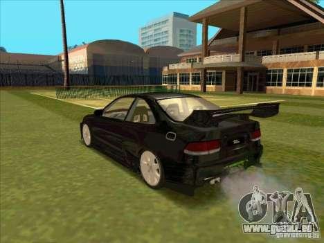 Honda Civic Coupe 1995 from FnF 1 pour GTA San Andreas laissé vue