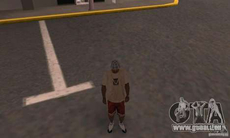 Nike Shoes pour GTA San Andreas quatrième écran