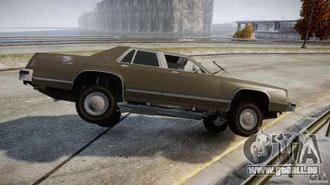 Ford Crown Victoria 1983 pour GTA 4