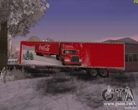 La remorque pour la remorque de Coca Cola pour GTA San Andreas