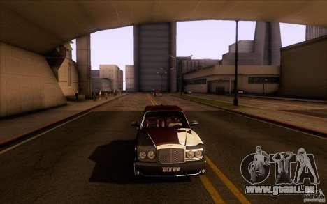 Bentley Arnage R 2005 für GTA San Andreas Seitenansicht