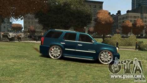 Cadillac Escalade Dub für GTA 4 rechte Ansicht