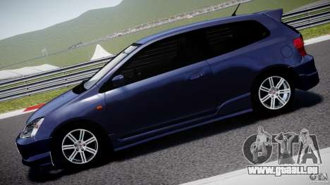Honda Civic Type-R pour GTA 4 est une gauche