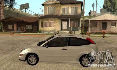 Ford Focus SVT pour GTA San Andreas laissé vue