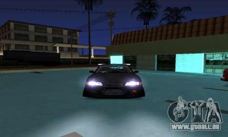 Nissan Skyline R32 GT-R pour GTA San Andreas sur la vue arrière gauche