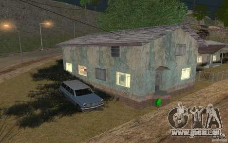 La maison du vert pour GTA San Andreas
