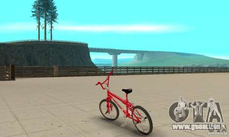 Noxon Jump Bmx für GTA San Andreas zurück linke Ansicht