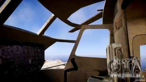 MH-53 Pavelow v1.1 pour GTA 4 Vue arrière