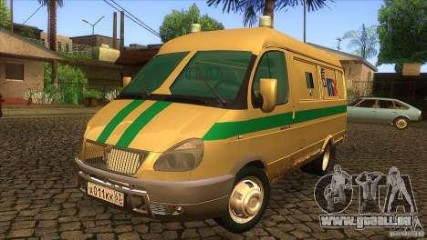 Gazelle 2705-Transport-Dienstleistungen für GTA San Andreas