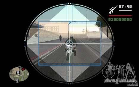 Sniper mod v. 2 für GTA San Andreas
