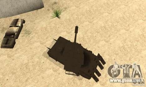 Rhino Tank Megatron pour GTA San Andreas vue de droite