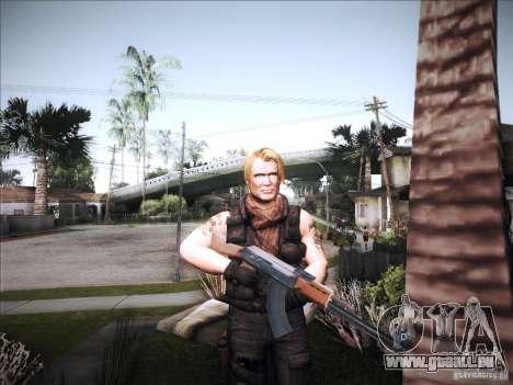 Die Expendables für GTA San Andreas zweiten Screenshot