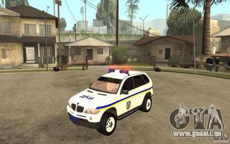 BMW X 5 DAÌ pour GTA San Andreas