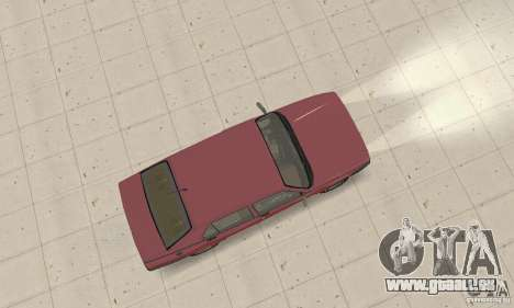 Alfa Romeo 75 für GTA San Andreas zurück linke Ansicht