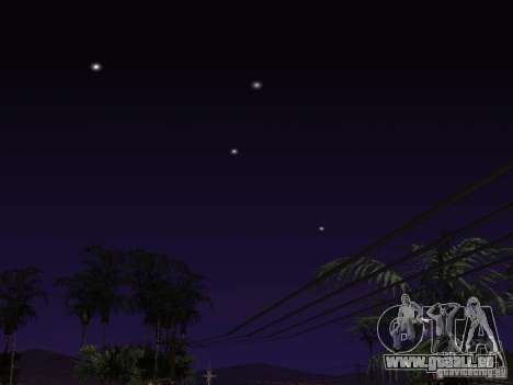 Timecyc - Purple Night v2.1 pour GTA San Andreas dixième écran