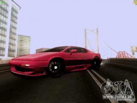 Lotus Esprit V8 pour GTA San Andreas laissé vue